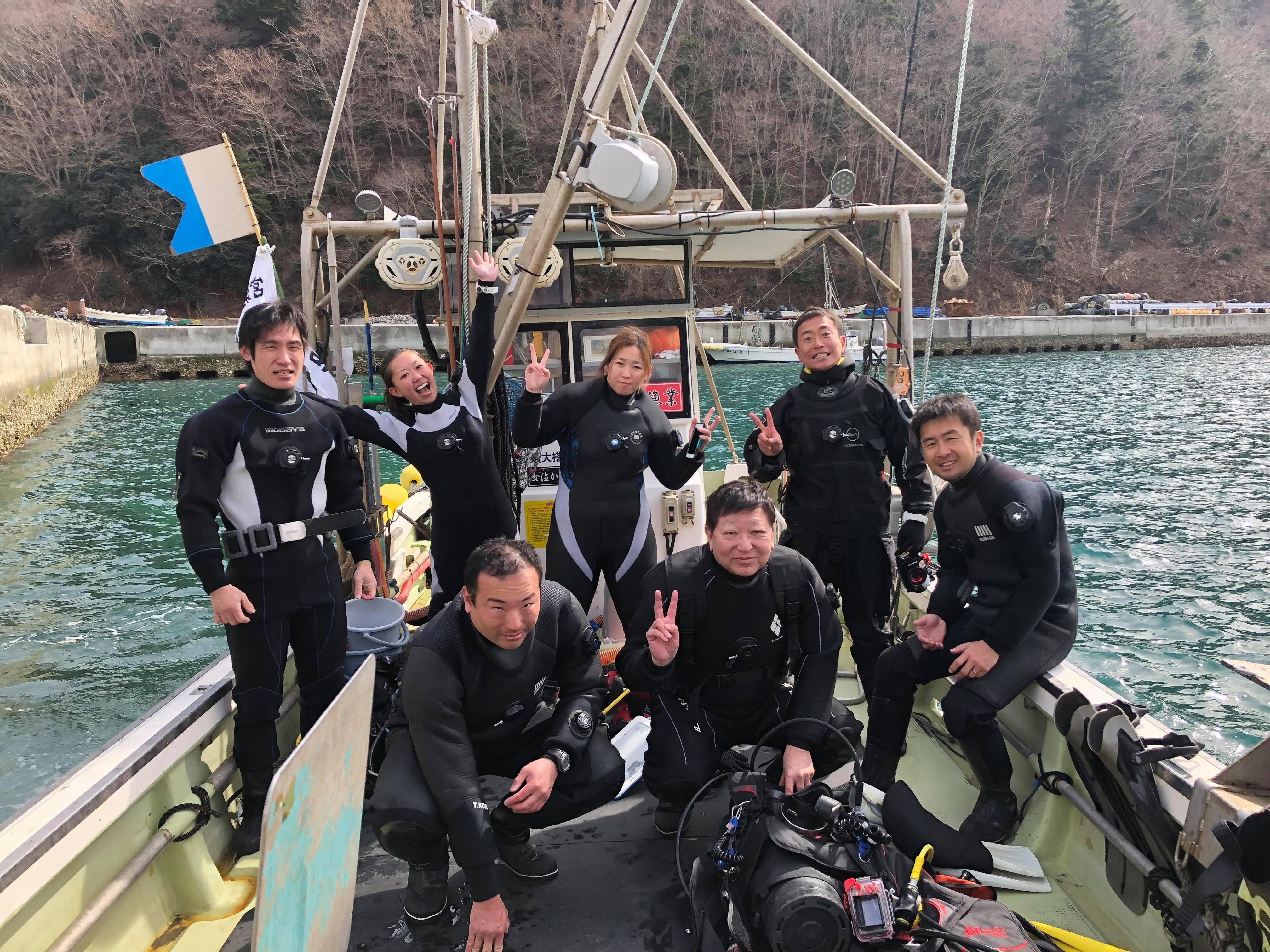 仙台ダイビング