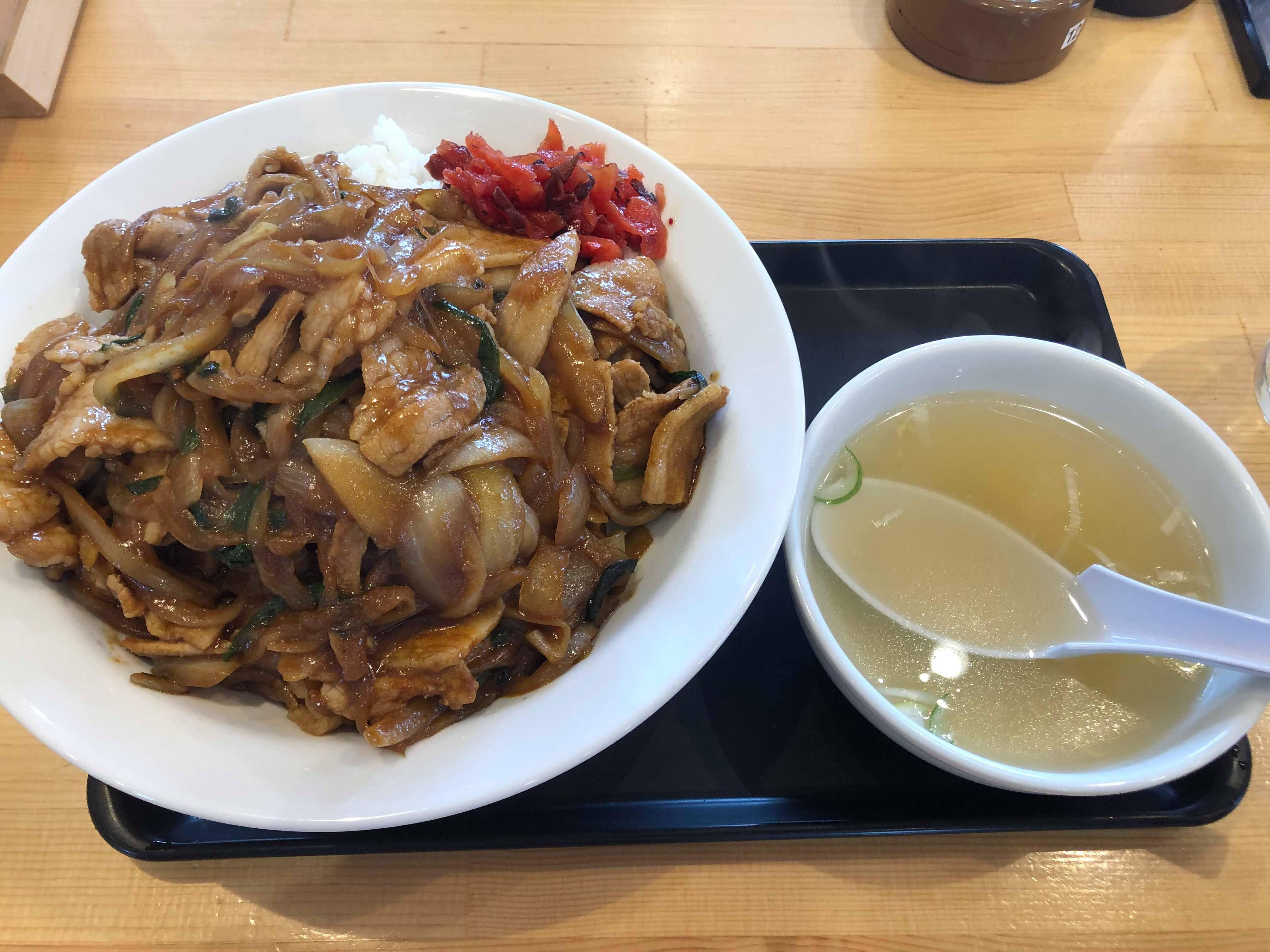女川 三秀 焼肉飯